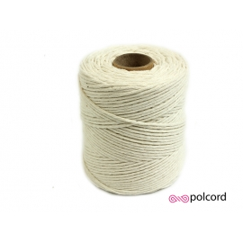 Sznurek bawełniany do makramy  250g / 162m PRODUCENT