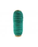 Sznurek bawełniany do makramy_zielony 100m/5mm PRODUCENT