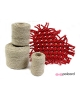 Sznurek bawełniany do makramy  500g -szary PRODUCENT