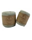Sznurek bawełniany do makramy  50m / 4mm OLIWKA, skręcany