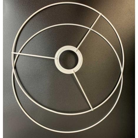 OBRĘCZ stelaż do abażuro 2 części fi 25cm