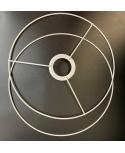 OBRĘCZ stelaż do abażuro 2 części fi 40cm